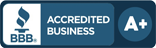A+ Better Business Bureau Rating