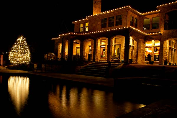 Reliability and Safety are Top Priorities with Our Christmas Light Installs - Christmas Light Design & Installation Jurassic Lawn Care